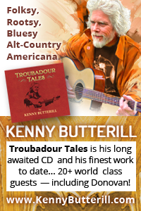 "Kenny Butterill's ""Troubadour Tales"""